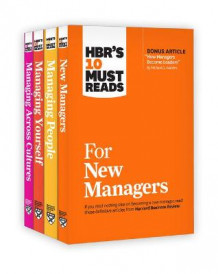 Hbr's 10 Must Reads for New Managers Collection av Harvard Business Review, Michael D Watkins, Peter F Drucker, W Chan Kim og Renee a Mauborgne (Samlepakke)