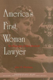 America's First Woman Lawyer av Jane M. Friedman (Heftet)