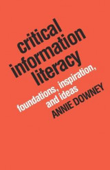 Omslag - Critical Information Literacy