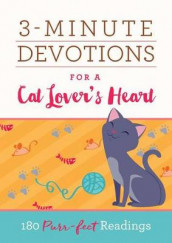 3-Minute Devotions for a Cat Lover's Heart av Renae Brumbaugh Green, Compiled by Barbour Staff, Katherine Anne Douglas, Darlene Franklin, Ardythe Kolb, Shelley R Lee, Connie Peters, Rachel Quillin, Paula Swan og Cheryl Elaine Williams (Heftet)