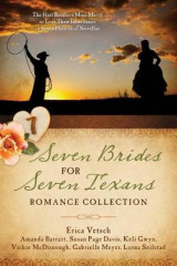 Omslag - Seven Brides for Seven Texans Romance Collection
