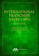 Omslag - International Franchise Sales Laws