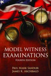 Model Witness Examinations av Paul Mark Sandler (Heftet)