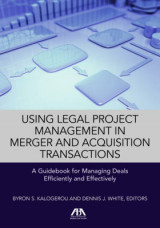 Omslag - Using Legal Project Management in Merger and Acquisition Transactions