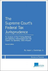Omslag - The Supreme Court's Federal Tax Jurisprudence