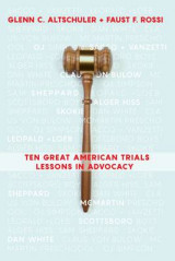 Omslag - Ten Great American Trials