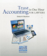 Omslag - Trust Accounting for Lawyers in One Hour