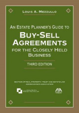 Omslag - An Estate Planner's Guide to Buy-Sell Agreements for the Closely Held Business