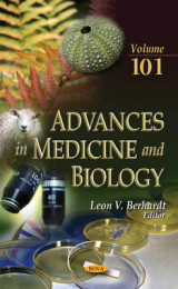 Omslag - Advances in Medicine & Biology: Volume 101