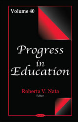 Omslag - Progress in Education: Volume 40