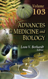 Omslag - Advances in Medicine & Biology: Volume 103