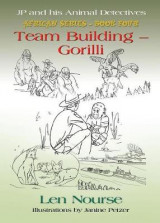 Omslag - Jp and His Animal Detectives African Series - Book Four - Team Building - Gorilli