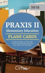 Omslag - Praxis II Elementary Education Content Knowledge 5018 Flash Cards