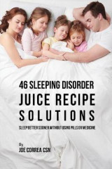Omslag - 46 Sleeping Disorder Juice Recipe Solutions