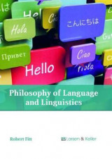 Omslag - Philosophy of Language and Linguistics