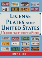 License Plates of the United States av James K Fox (Innbundet)