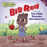 Omslag - Big Red and the Terrible Tomato Hornworms