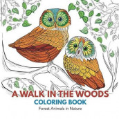 A Walk in the Woods Coloring Book av Adult Coloring Books (Heftet)