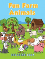 Omslag - Fun Farm Animals Coloring Book