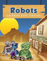 Omslag - Robots Coloring Book for Kids