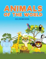 Omslag - Animals of the World Coloring Book