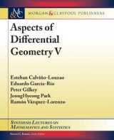 Omslag - Aspects of Differential Geometry V