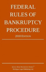 Omslag - Federal Rules of Bankruptcy Procedure; 2018 Edition