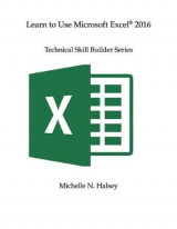 Omslag - Learn to Use Microsoft Excel 2016