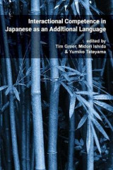 Omslag - Interactional Competence in Japanese as an Additional Language