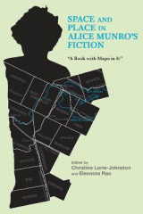 Omslag - Space and Place in Alice Munro's Fiction
