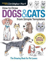 Omslag - How to Draw Dogs & Cats from Simple Templates