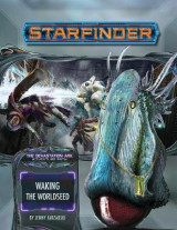 Omslag - Starfinder Adventure Path: Waking the Worldseed (Devastation Ark 1 of 3)