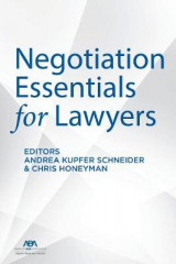 Omslag - Negotiation Essentials for Lawyers