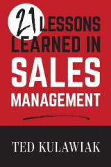 Omslag - 21 Lessons Learned in Sales Management