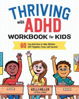 Omslag - Thriving with ADHD Workbook for Kids