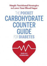 Omslag - The Pocket Carbohydrate Counter Guide for Diabetes