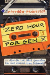 Omslag - Zero Hour for Gen X