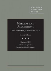 Mergers and Acquisitions av Claire A. Hill, Brian JM Quinn og Steven Davidoff Solomon (Innbundet)