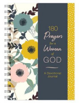 Omslag - 180 Prayers for a Woman of God Devotional Journal
