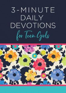 3-Minute Daily Devotions for Teen Girls av Compiled by Barbour Staff (Heftet)
