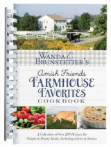 Omslag - Wanda E. Brunstetter's Amish Friends Farmhouse Favorites Cookbook