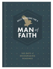 Daily Devotions for a Man of Faith av Compiled by Barbour Staff (Innbundet)