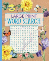 Omslag - Large Print Floral Word Search