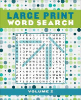 Omslag - Large Print Word Search Volume 2, Volume 2