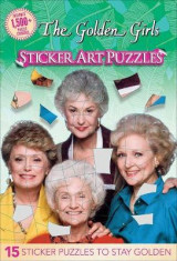 Omslag - Golden Girls Sticker Art Puzzles