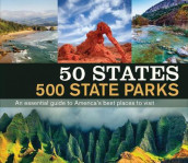 50 States 500 State Parks av Publications International Ltd (Innbundet)