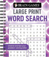 Omslag - Brain Games - Large Print Word Search (Swirls)