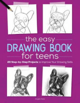 Omslag - The Easy Drawing Book for Teens