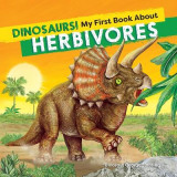 Omslag - Dinosaurs! My First Book about Herbivores
