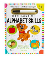 Omslag - Let's Learn: First Alphabet Skills (Write and Wipe)